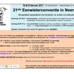 Flyer eenwielerconventie 2017
