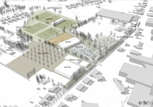 3D ontwerp Sportpark de schans